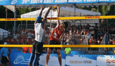 Indonesia dominates South East Asian Beach Volleyball Championships