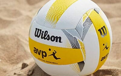 Going pro with the official Wilson AVP game volleyball